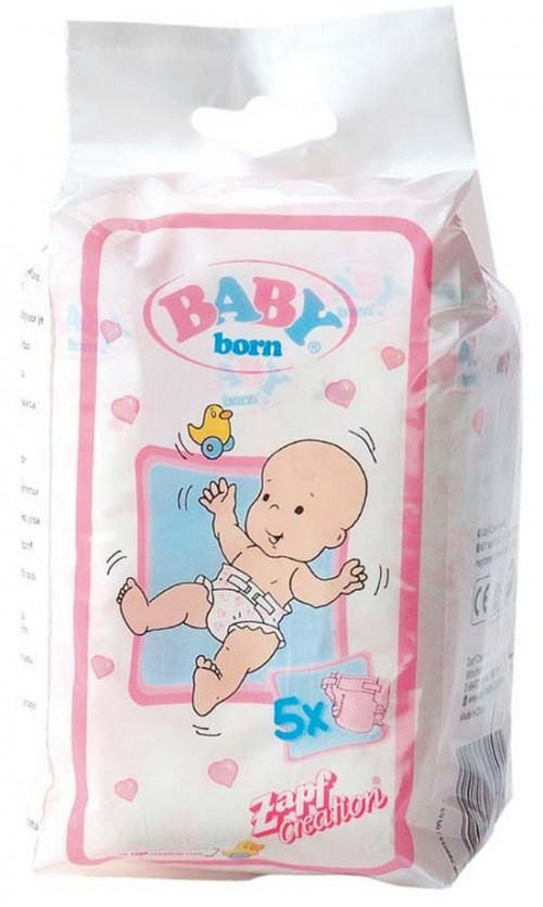 Как сделать памперс для беби бона своими руками видео